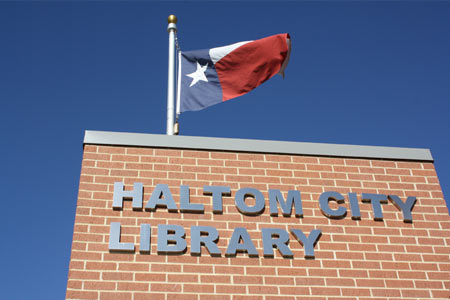 haltom city library