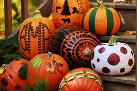 haltom city library pumpkin decorating contest 2015