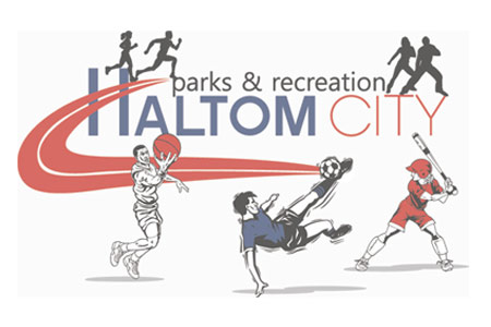 haltom city parks recreation logo